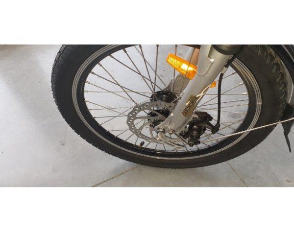 Plooi fiets lichtgewicht